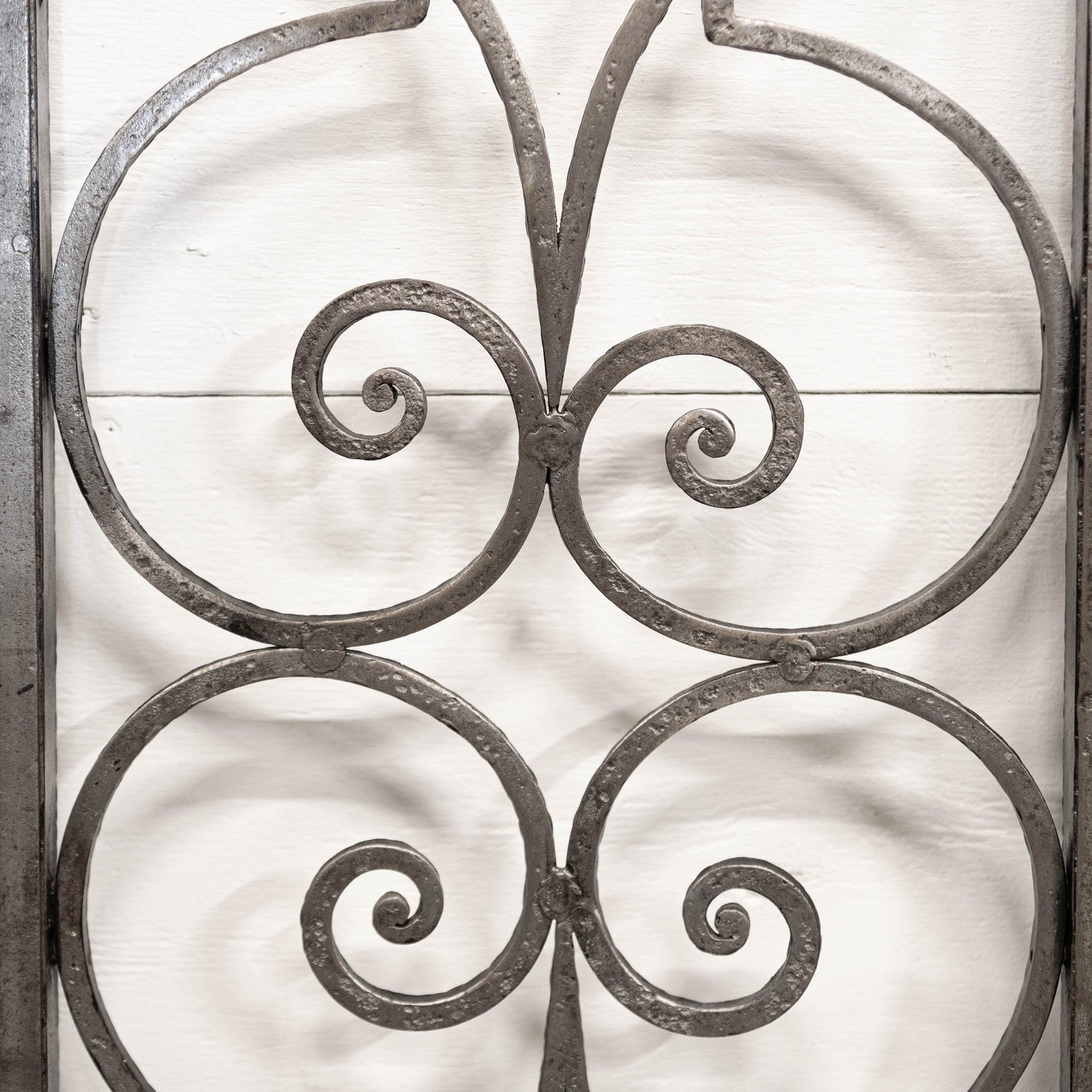 Antique pair of decorative iron doors | The Architectural Forum