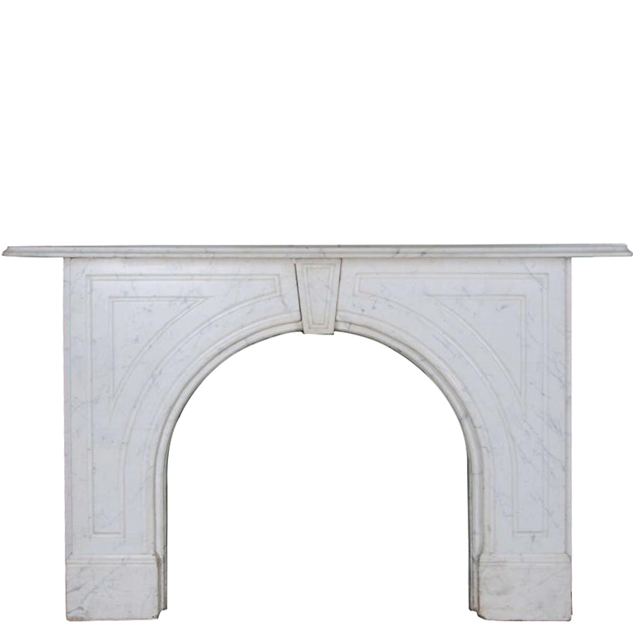 Antique Victorian Marble Fireplace Surround - The Architectural Forum