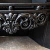 Reclaimed Ornate Georgian Regency Style Cast Iron Hob Grate (2 available) - architectural-forum