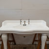 Antique French La Chapelle Console Basin Sink on Legs - The Architectural Forum
