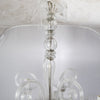 Reclaimed Clear Glass 15 Arm Chandelier