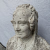 Antique Queen Victoria Bust Carved in Carrara Marble - architectural-forum
