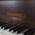 Reclaimed Chappell Baby Grand Piano in Mahogany Circa 1930 - architectural-forum