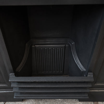 Reclaimed Edwardian Style Cast Iron Combination Fireplace - architectural-forum