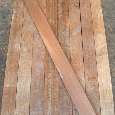 Reclaimed Iroko Floorboards (170m² available)