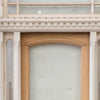 Victorian Entrance Door with Etched Glass & Carved Frame