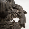 Reclaimed Large Cast Iron Lion Head & Hand Door Knocker - architectural-forum