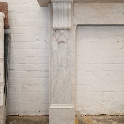 Antique Victorian Marble Corbel Fireplace Surround - The Architectural Forum
