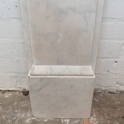 Antique Victorian Marble Corbel Fireplace Surround - architectural-forum