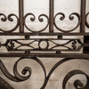 Pair of Impressive Large Antique Wrought Iron Gates