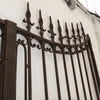 Pair of Impressive Large Antique Wrought Iron Gates - architectural-forum