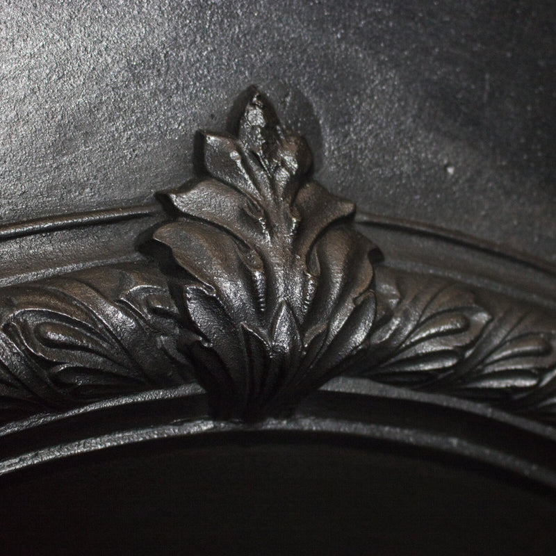 Antique Victorian Cast Iron Arched Insert