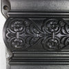 Antique Cast Iron Fireplace Surround with Rams Head