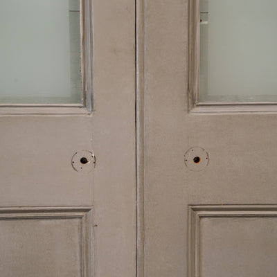 Original Victorian Glazed Double Doors 239.5cm x 138cm