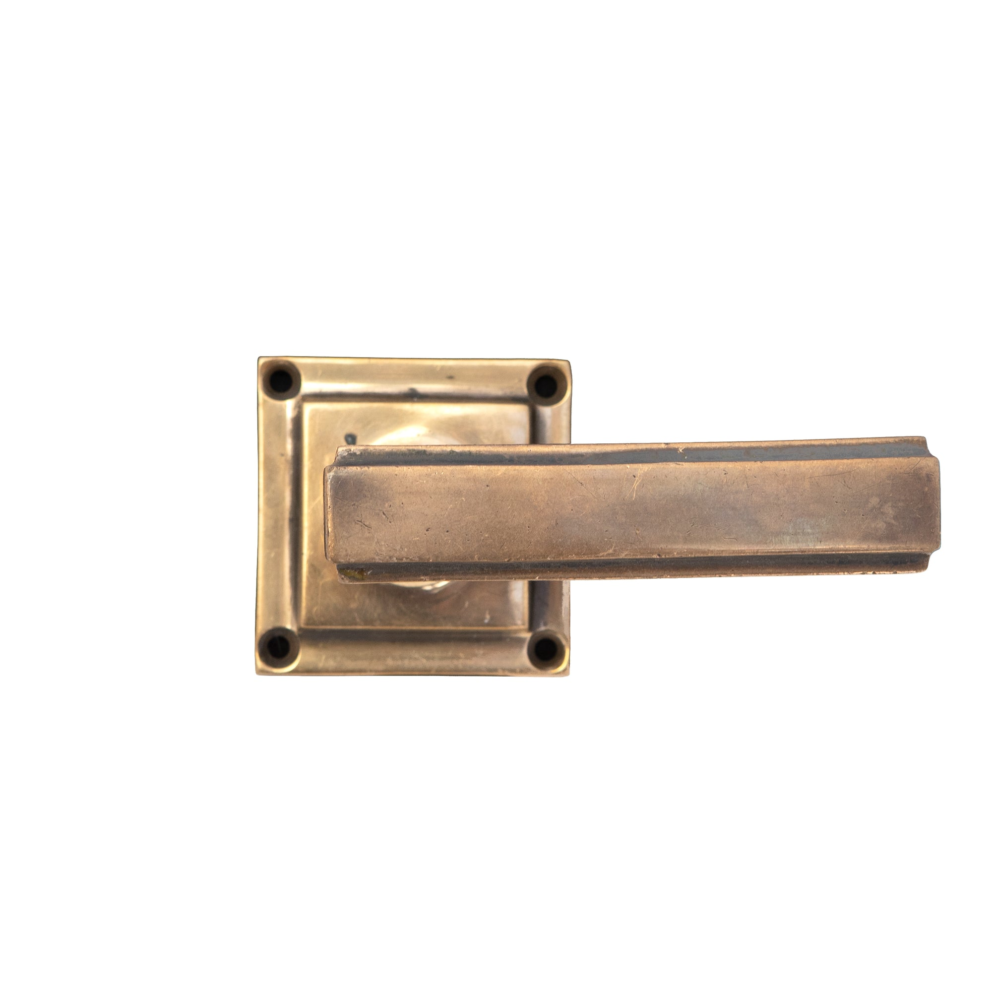 Original Art Deco Brass Lever Door Handle