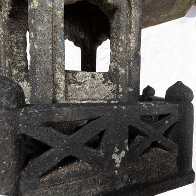 Antique Japanese Toro Granite Lantern - architectural-forum
