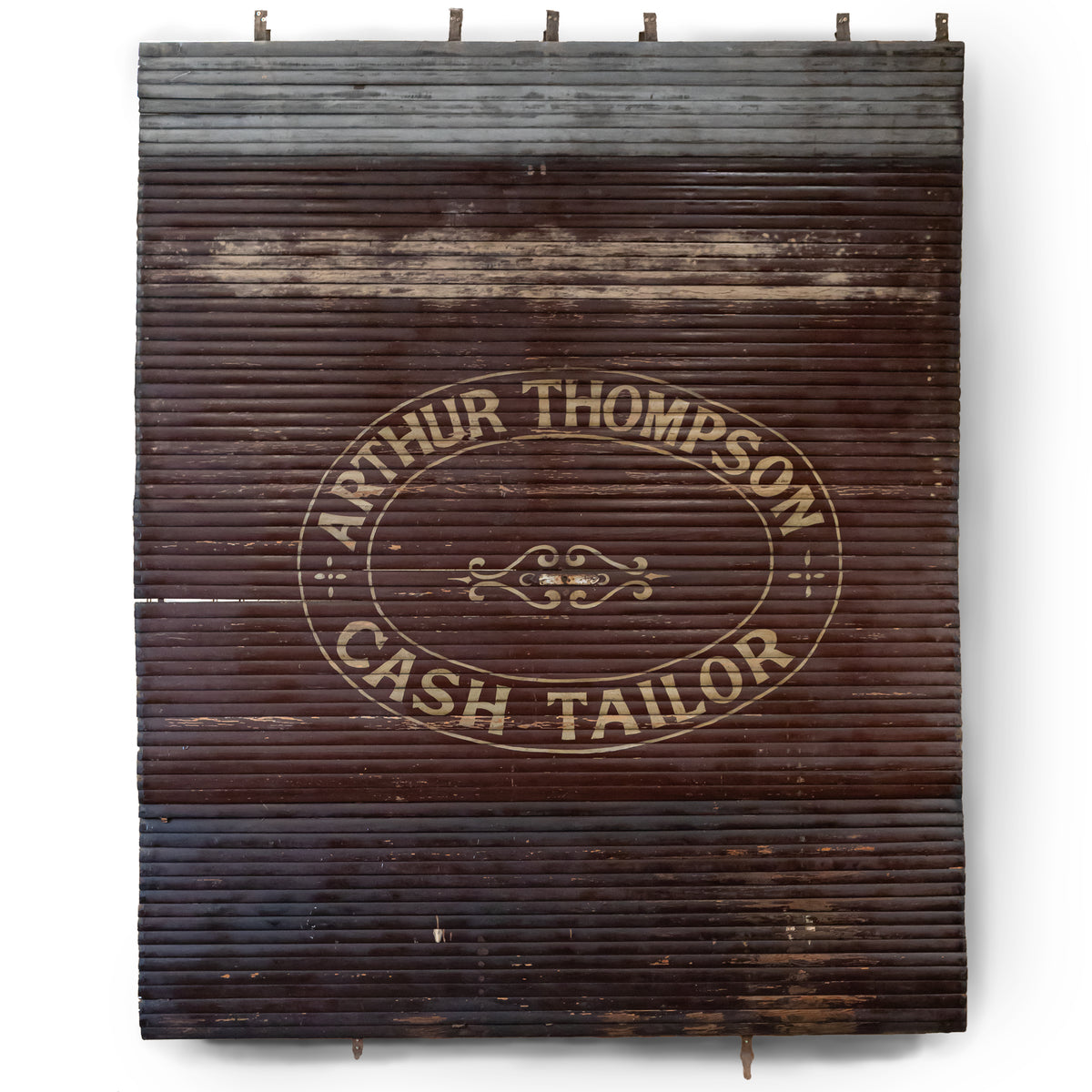 Antique East London Shop Roller Shutter - Arthur Thompson | The Architectural Forum
