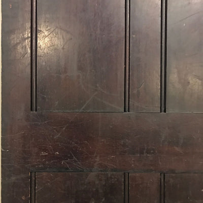 teak antique interior door 1900