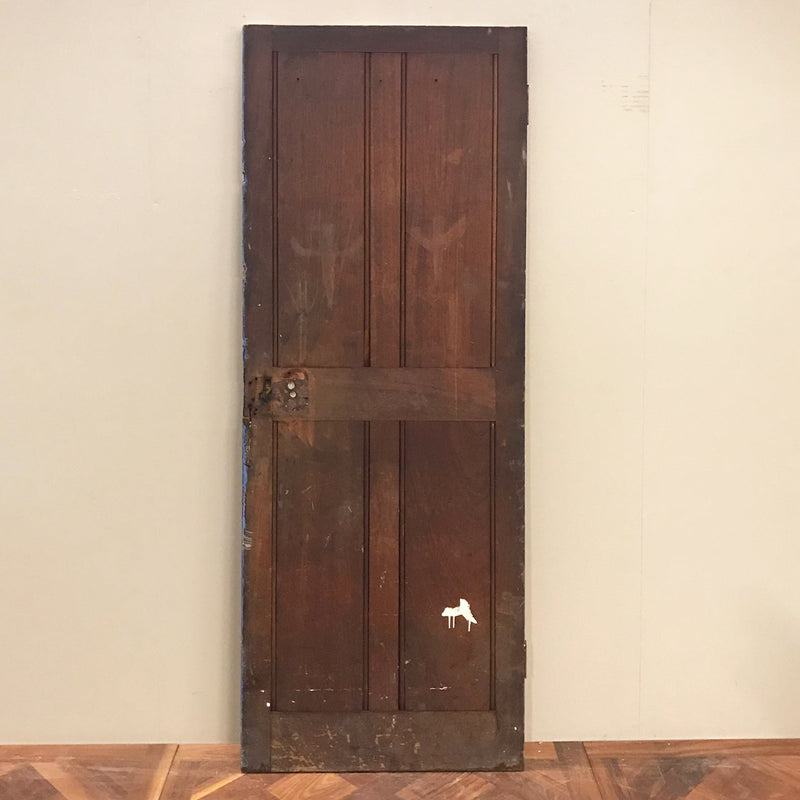 solid teak 1900 antique door