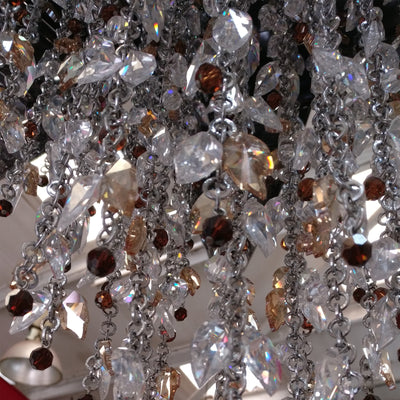 Reclaimed Beby Italy Bouquet Crystal Pendant Light - architectural-forum