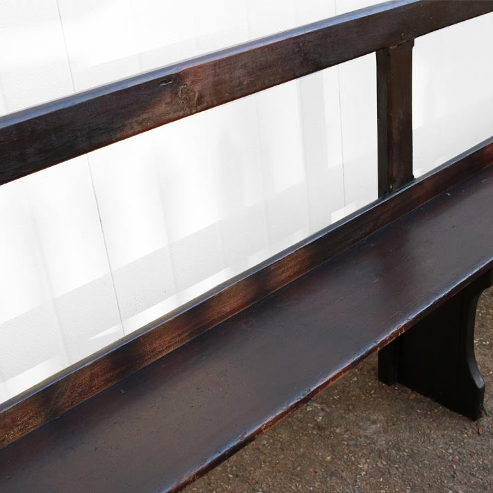 Victorian Pine Pew Benches - architectural-forum
