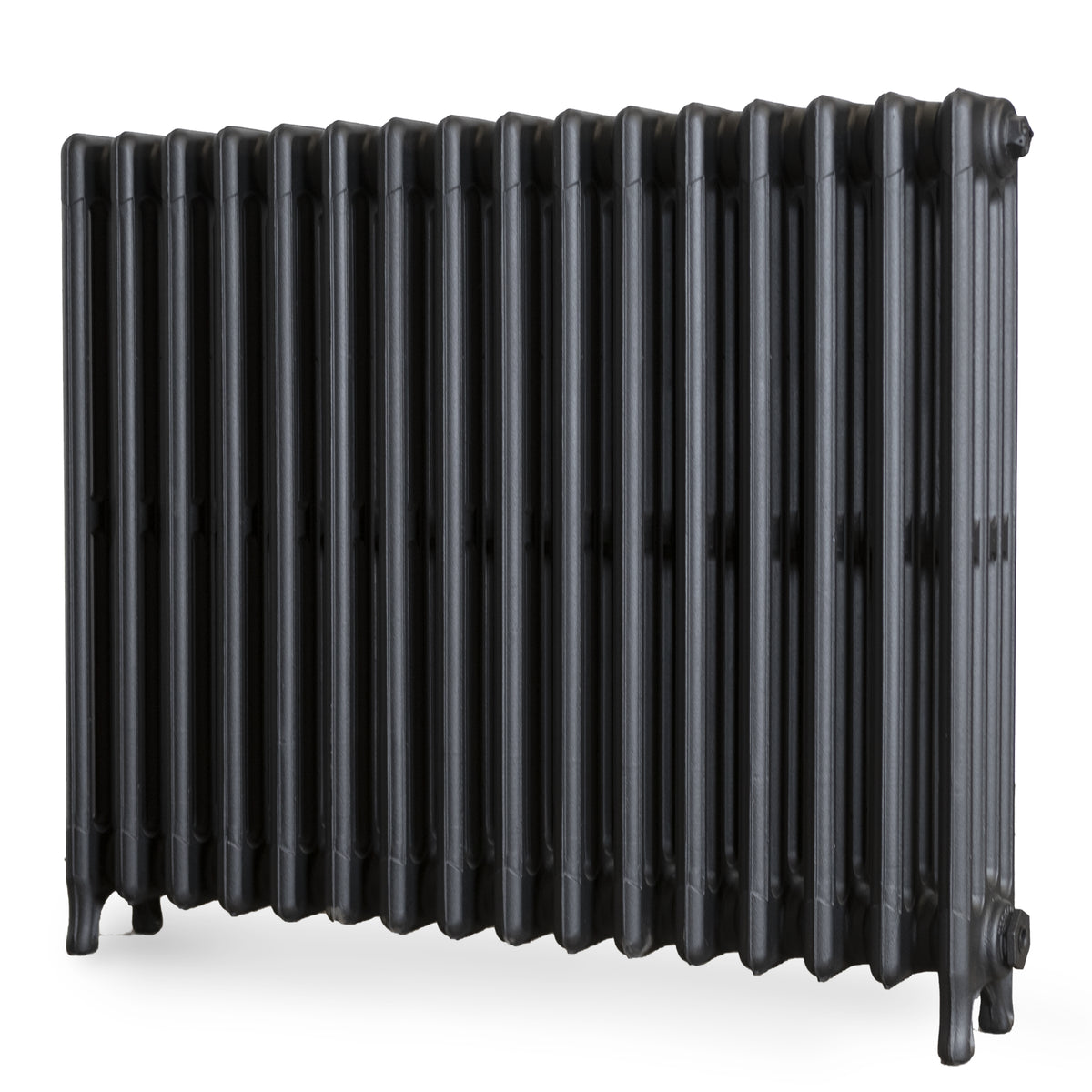 Fully Restored Cast Iron Radiator 4 Column (61.5cm Tall x 80cm Long) | The Architectural Forum