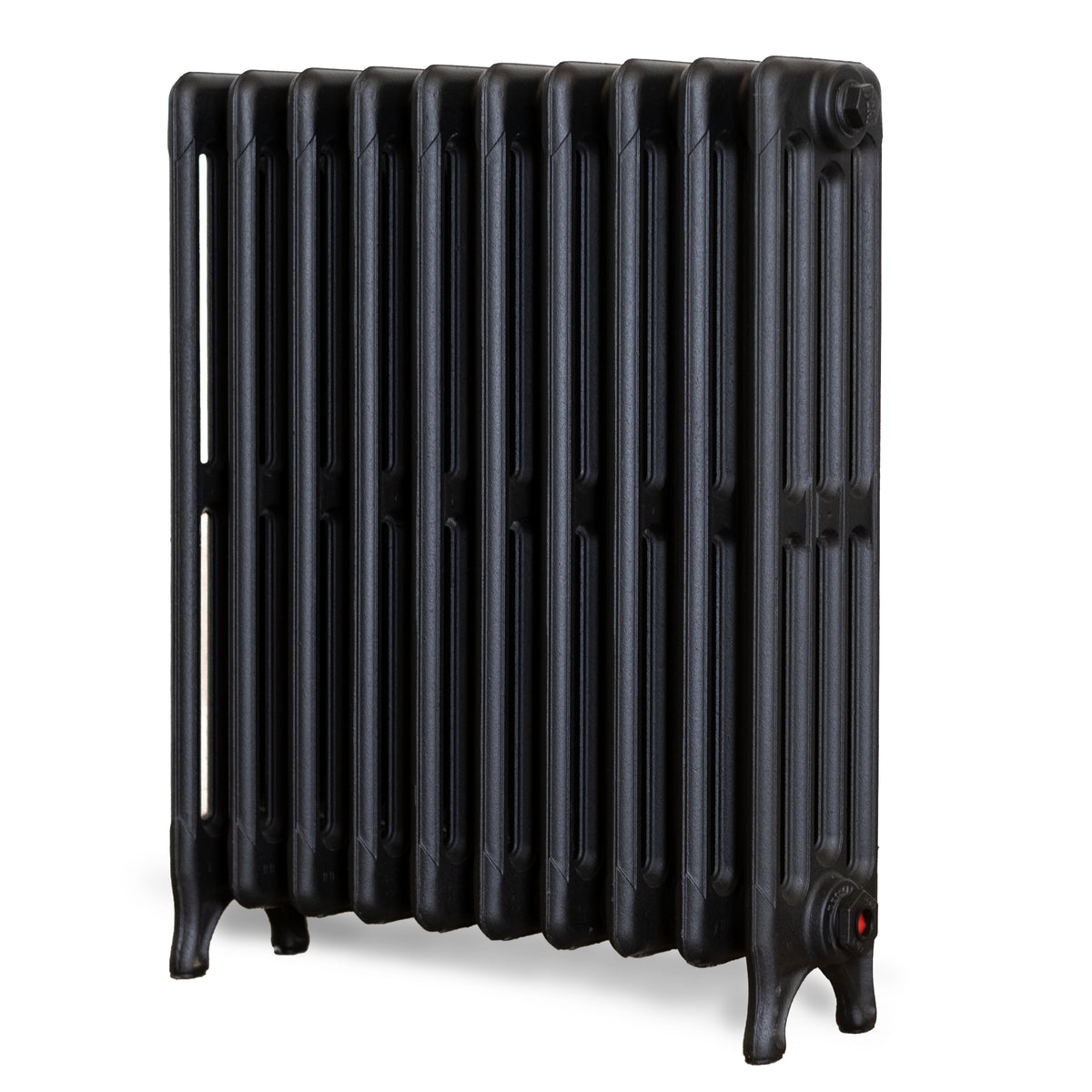Fully Restored Cast Iron Radiator 4 Column, (61.5cm Tall x 53cm Long) | The Architectural Forum