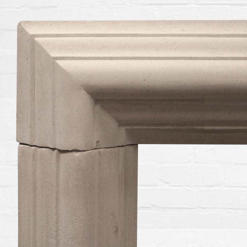 Portland Stone Bolection Fire Surround