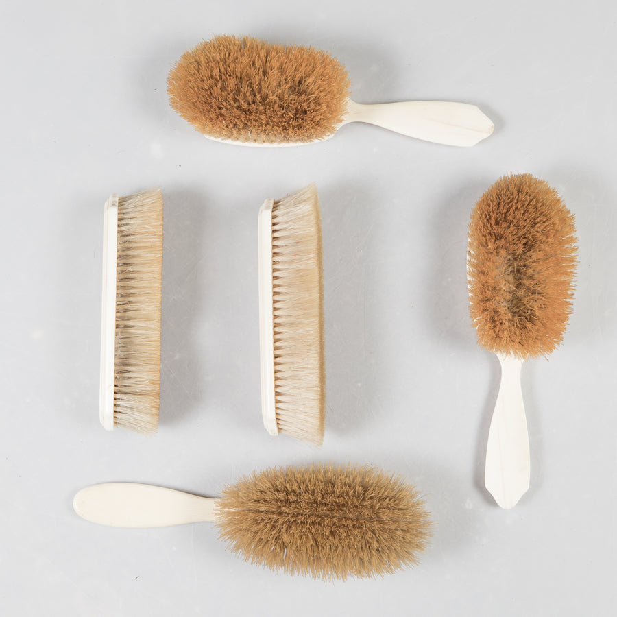 Antique Victorian Vanity Brush Set