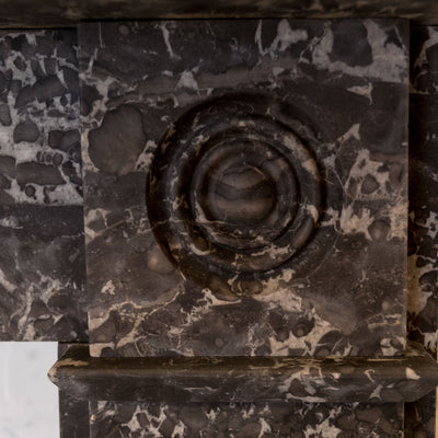 Antique Georgian St Anne's Marble Fireplace Surround - The Architectural Forum