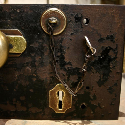 Antique Cast Iron Lock - The Architectural Forum