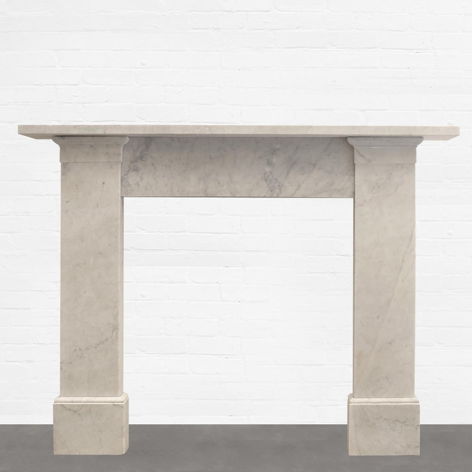 Victorian Carrara Marble Surround