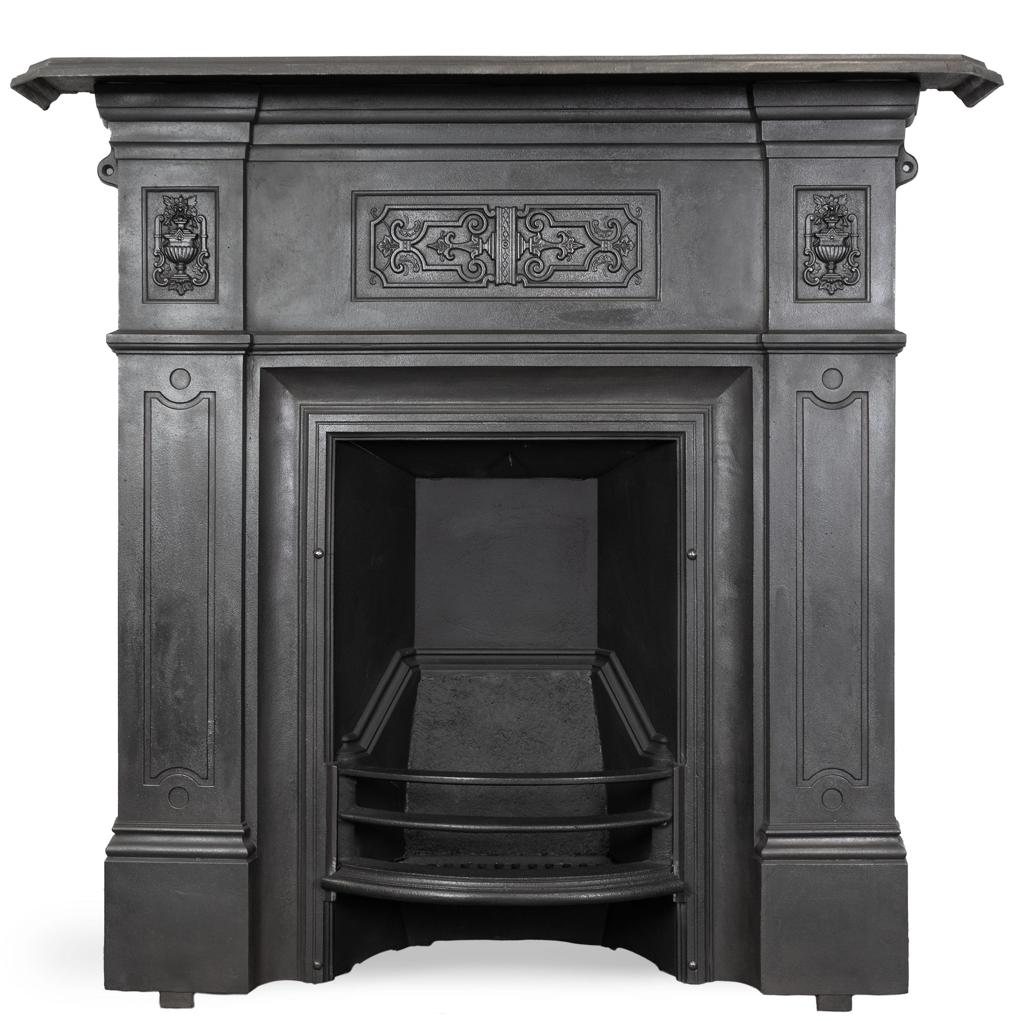 Antique Victorian Cast Iron Combination Fireplace | The Architectural Forum