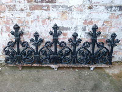 Antique Cast Iron Railings - architectural-forum