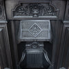 Fully Restored Antique Cast Iron Combination Fireplace