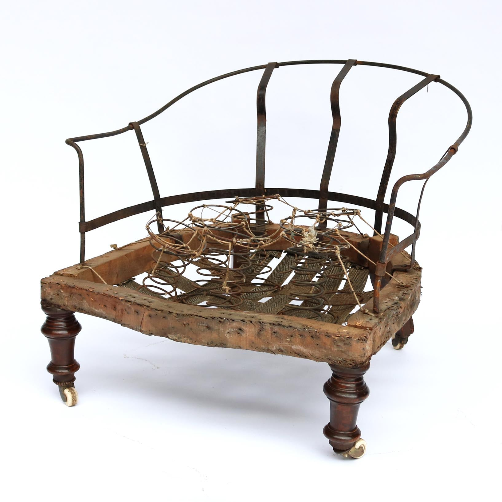 Victorian nursing chair frame.  sc 1 st  The Architectural Forum & Victorian Nursing Chair Frame