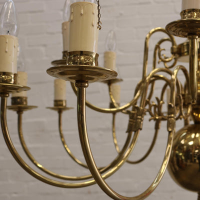 brass ceiling chandelier