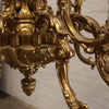Grand Rococo Style Gold Plated Chandelier - The Architectural Forum