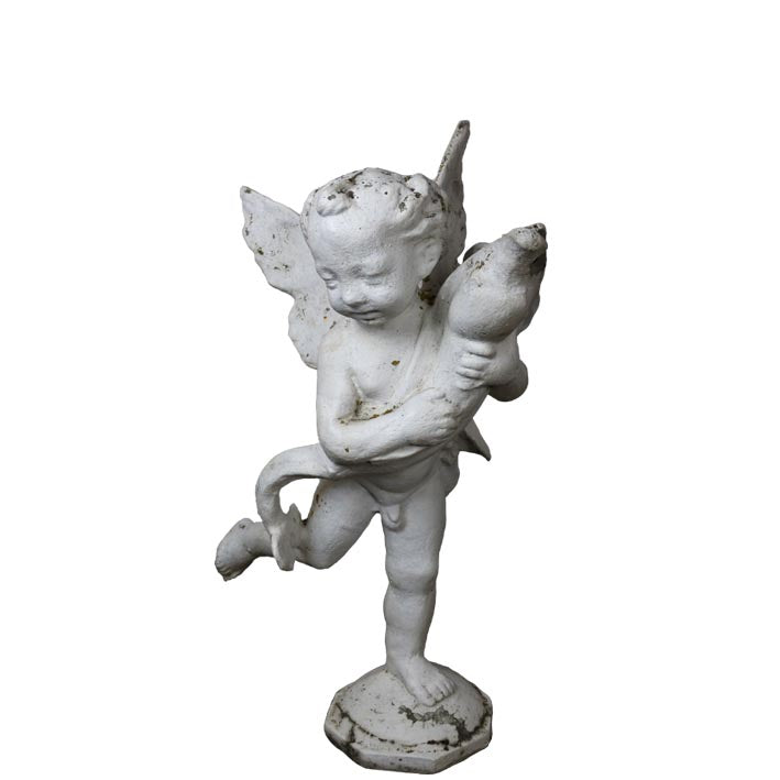 Antique Stone Cherub