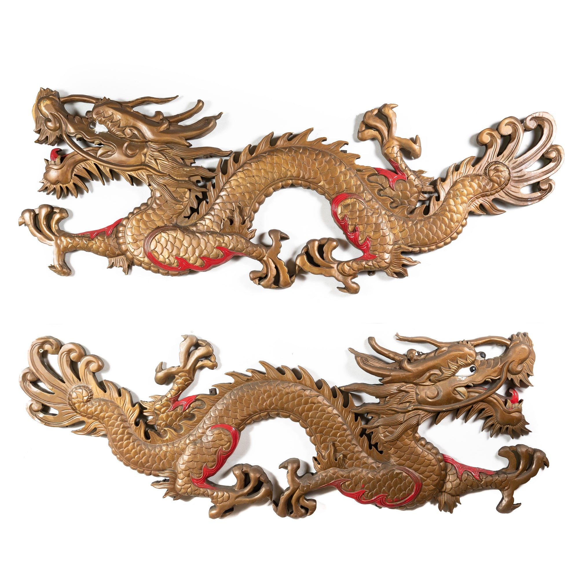 Large Chinese Dragons From London's China Town