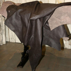 Chocolate Brown Leather hide