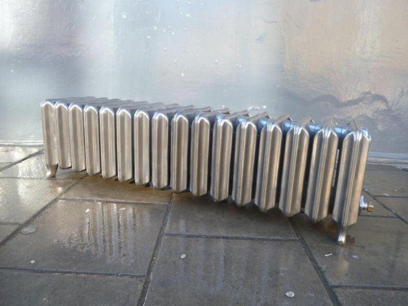 Antique cast iron radiator