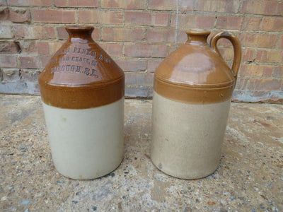 Antique Doulton Glazed Jugs - The Architectural Forum