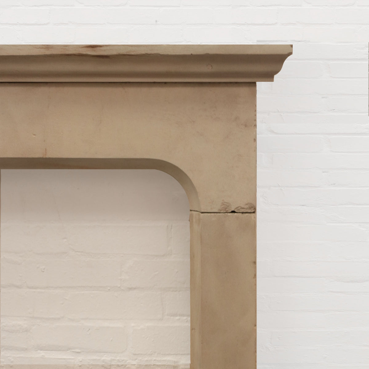 Antique Late 18th Century Yorkstone Fireplace Surround | The Architectural Forum
