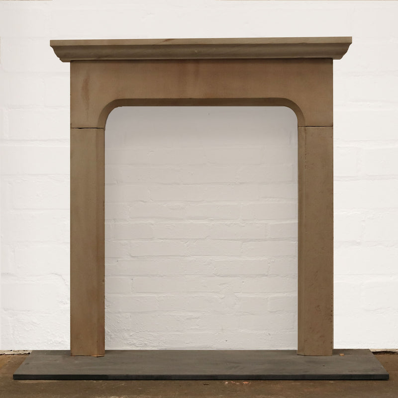 Late 18th Century Yorkstone Fire Surround