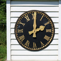 It has a functioning brass weathervane and working clock