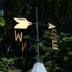 brass weathervane