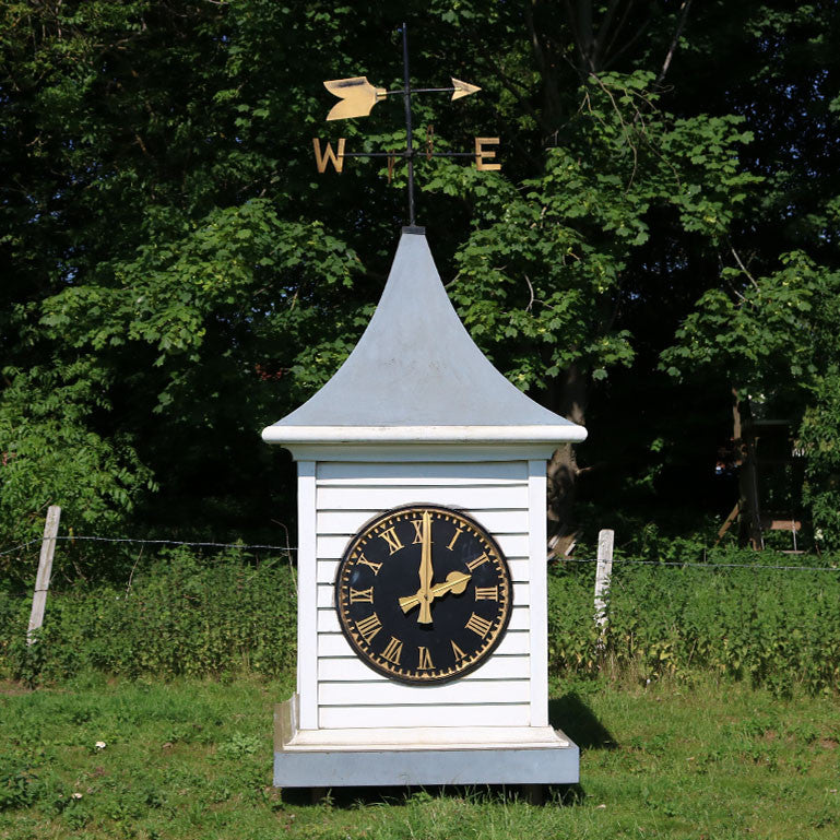 Clocktower with Weathervane