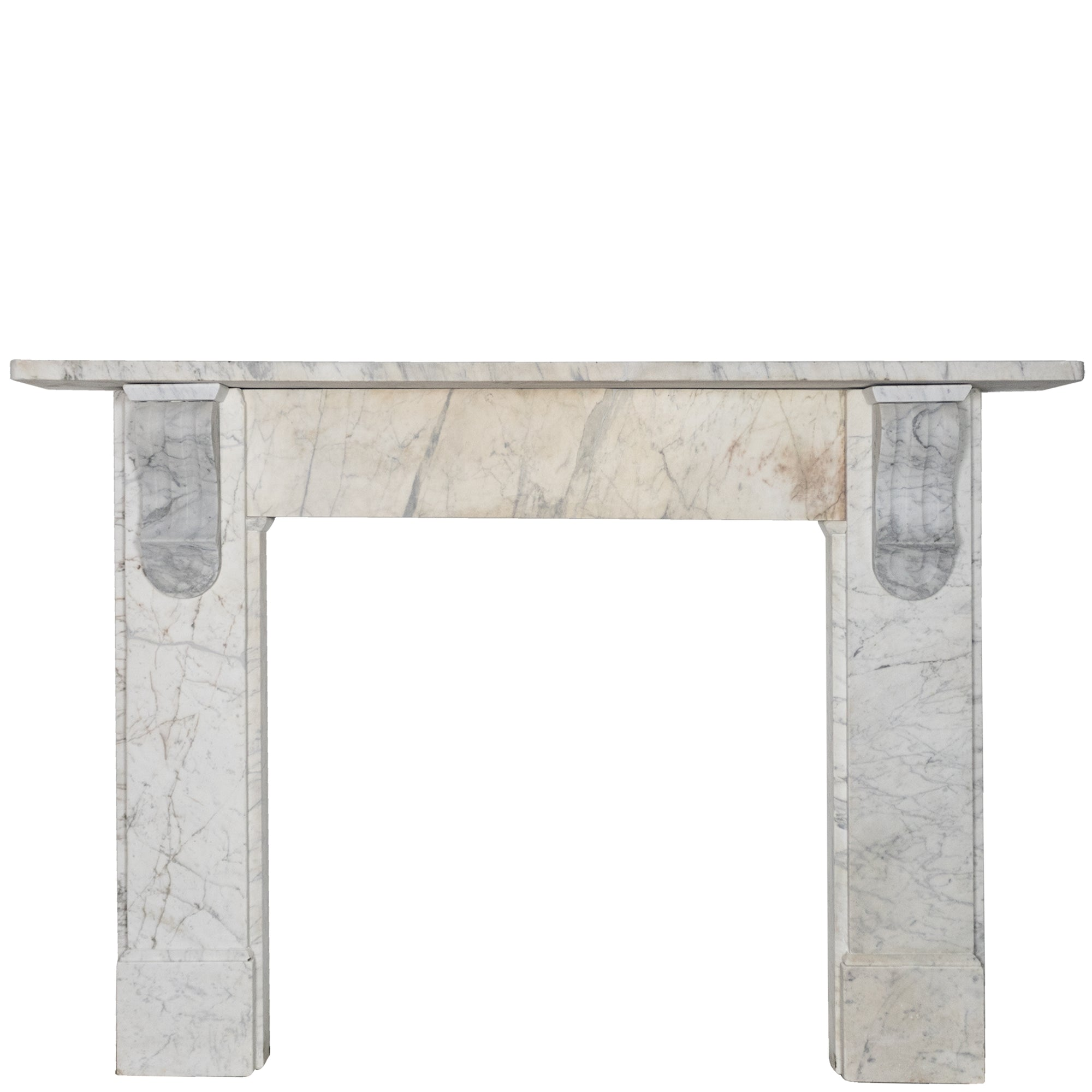 Antique Victorian Marble Corbel Fireplace Surround | The Architectural Forum