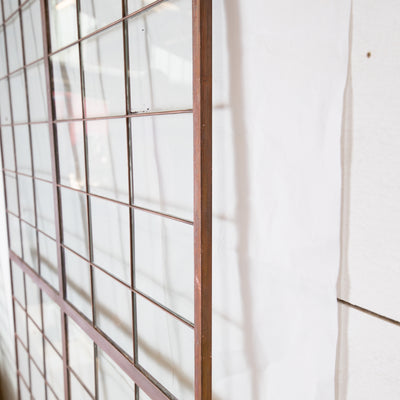 Glass Copper light Panels 78.5cm X 162cm - The Architectural Forum